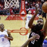 Harden's Triple-Double Features a 60-Point Explosion