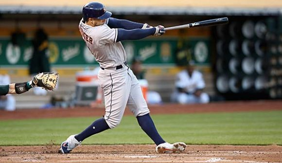 George Springer Enjoys a Lovely 6-for-6 Evening at the Ballpark