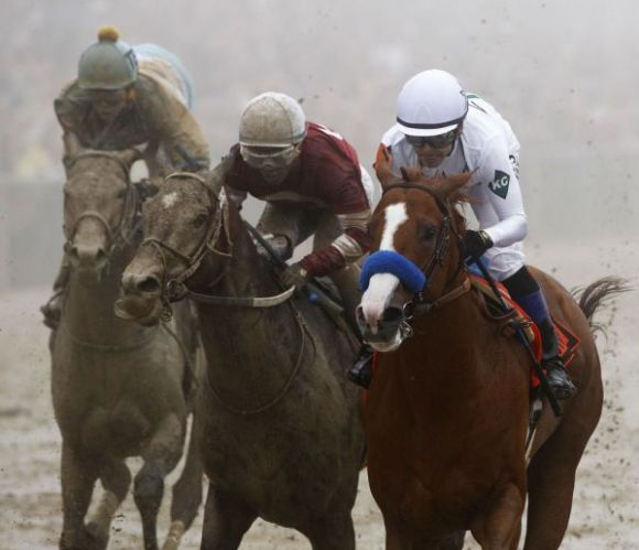 Justify Holds Off a Crowd, Captures Preakness