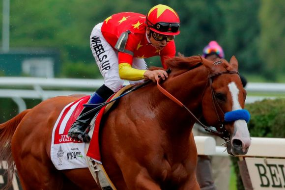 Justify Does Just That, Becomes 13th Triple Crown Winner