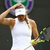 Wozniacki Bugged to Be Ousted Outta Wimbledon