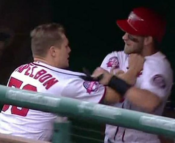 No Papelbon, No Prob; Nats Skipper Rips Jogging Harper