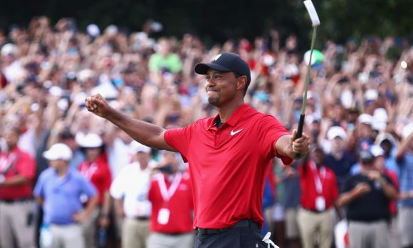Tiger Takes the Tour Championship by Its Tail; Wins His 80th Title