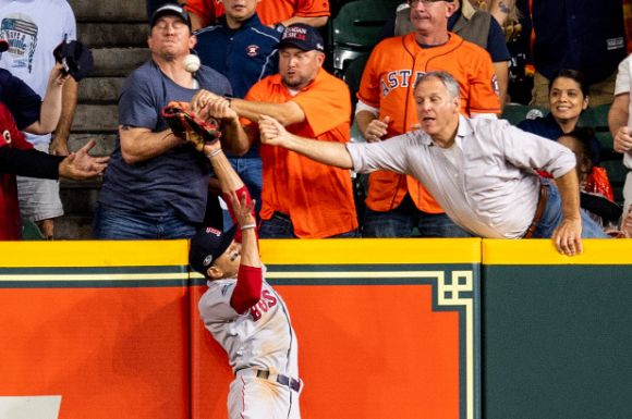 ALCS: The Play That Wasn't Highlights a Game 5 That Was