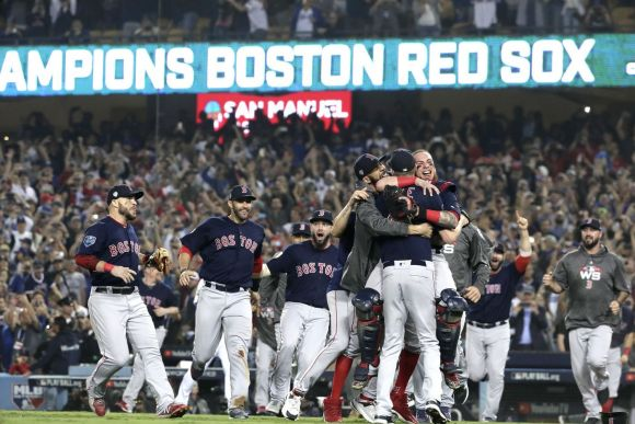 World Series: Relentless Red Sox Win the Title in Five Games