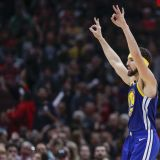 Bulls Watch Klay Thompson Set the Treys Record