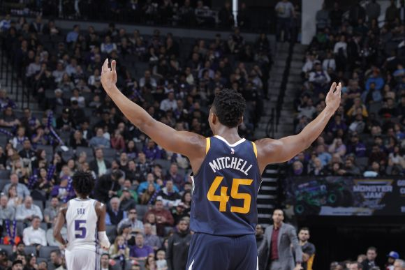 Donovan Mitchell Has an Historically Selfish Evening