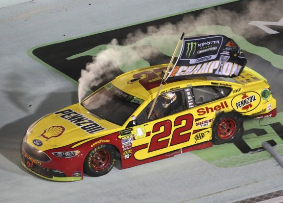 Logano Takes the Low Road to Claim NASCAR Championship