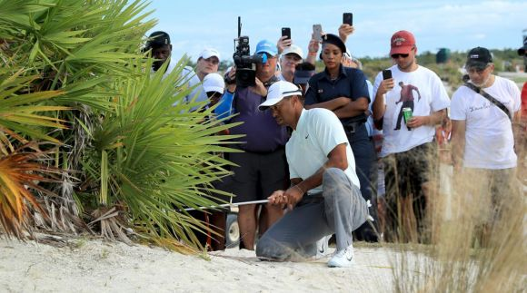 Tiger Woods Failing Miserably at His Own Tournament