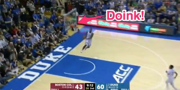 Zion Williamson Sends Dick Vitale into a Dangerous Tizzy with Missed Reverse Dunk