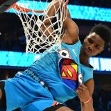 NBA All-Stars Go Globetrotter Once Again in Dunkfest
