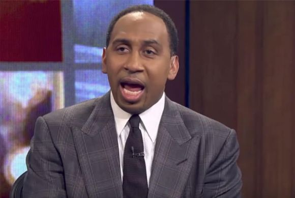 Stephen A Smith Should Just Stop Talking about Football