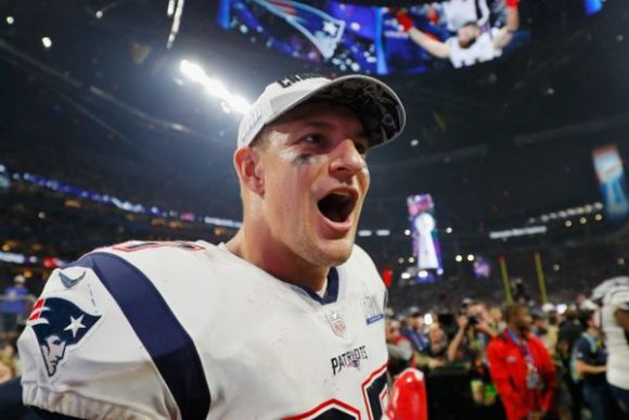 The Gronk Says He's Retiring ... Apparently