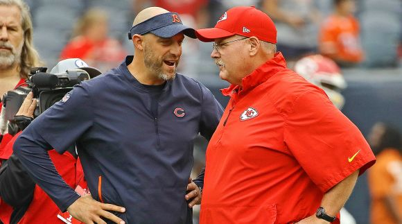 Matt Nagy Really Enjoys Discussing His Best Bud Andy Reid