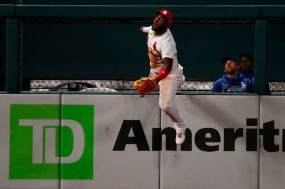 So Much for Marcell Ozuna's Gold Glove Chances