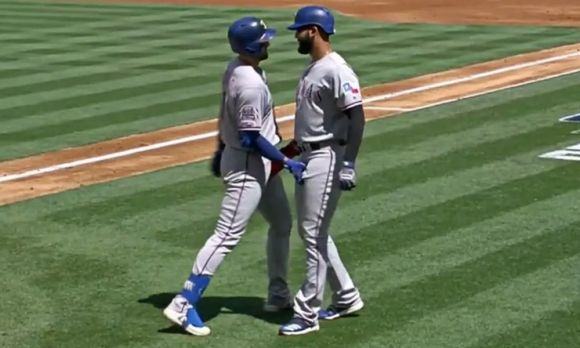 Joey Gallo and Nomar Mazara Have Decided to Retire the Celebratory Crotch Grab