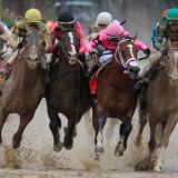 Nudges in the Mud Cause the Kentucky Derby's First DQ Result