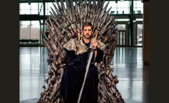 That Was Definitely Aaron Rodgers on Game of Thrones the Other Night