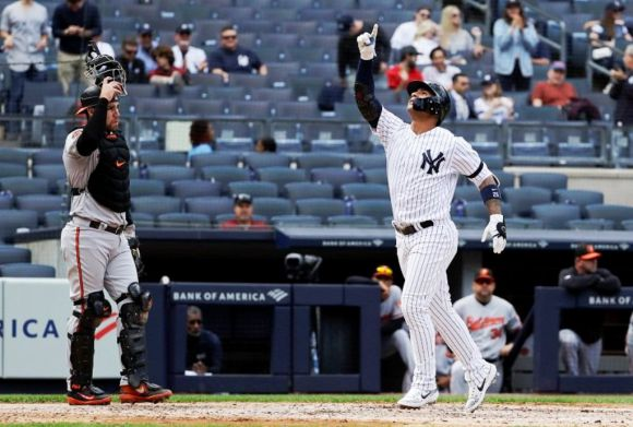 Gleyber Torres Is Having a Career against the Orioles This Season