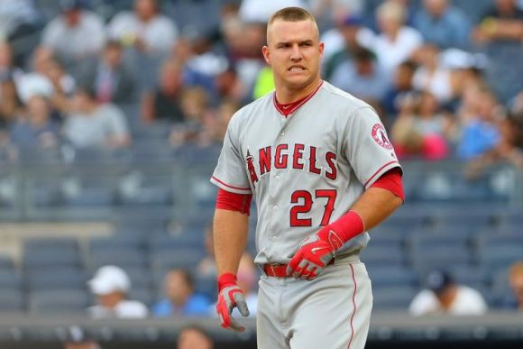 Well, Turns Out That Mike Trout Is Actually a Human Person