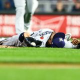 Brews' Jeremy Jeffress Was Almost Decapitated by a Hot Liner