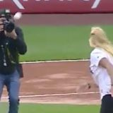 We May Have Just Witnessed the Ugliest First Pitch in Recorded History