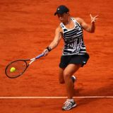 French Open: Ex-Cricketer Barty Hits Vondroušová for Six, Earns First Slam Title