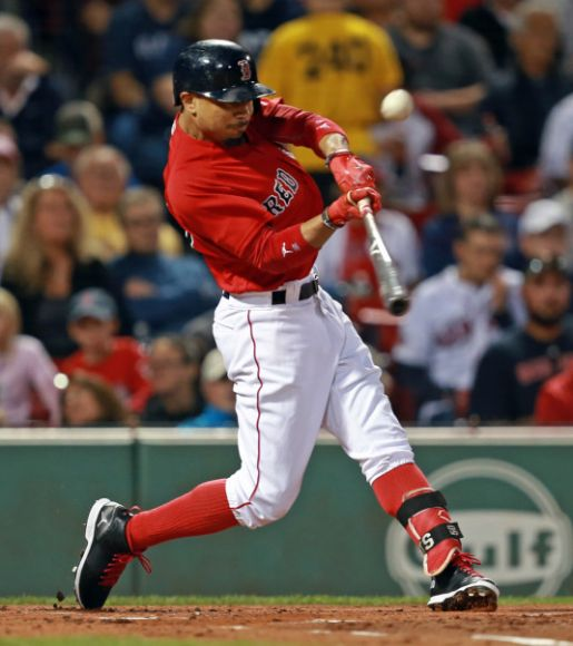 Boston's Betts Is the 4th Dude in 4 Days to Drill 3 HRs in a Game