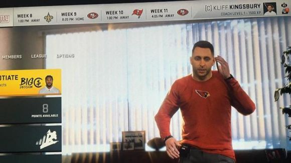 Kliff Kingsbury Has an Aesthetic Issue with Madden 20