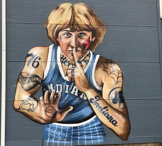 Please Don't Ask Larry Bird about Murals or His Many Tattoos