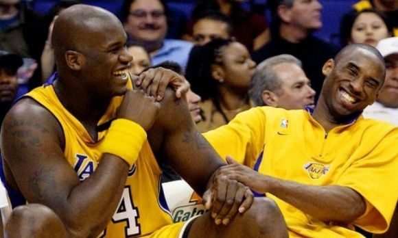 Shaq and Kobe Are Still Bickering Like an Old Married Couple