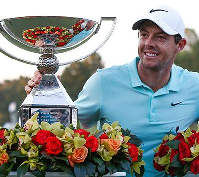 Lightning Strikes Twice for McIlroy, Wins Another Tour Championship