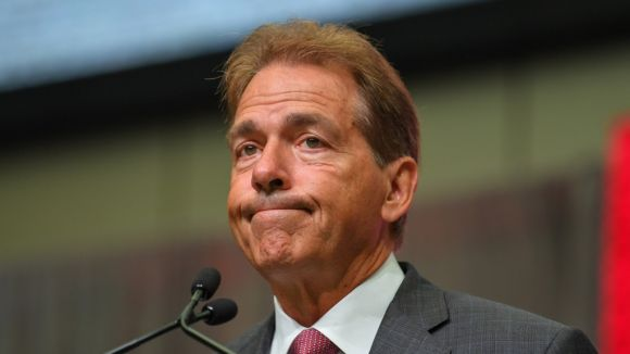 Saban Plays the Victim Card When Asked about 'Bama's Cupcake Schedule