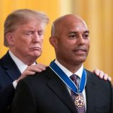 Baseball Historian Donald Trump Honors Mariano Rivera at the White House