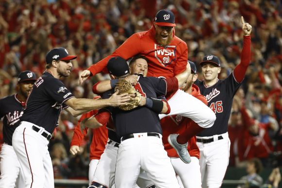 NLCS: Nationals Sweep Cardinals, Earn First World Series Berth