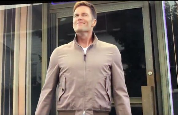 Tom Brady Walks Out of a Massage Parlor in Surreal Netflix Cameo