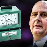 Jim Boylen Installs a Time Clock for Bulls Players Because He's Insane