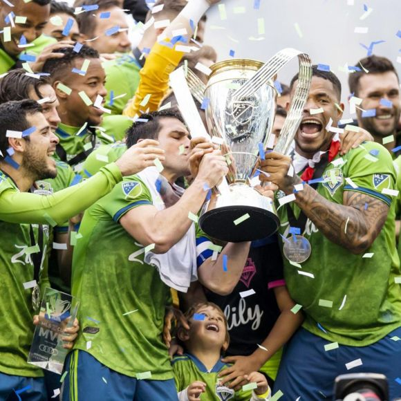 Sounders Take Home MLS Cup ... Where They Were Already
