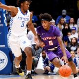 Evansville Drops a Purple Ace on No 1 Kentucky