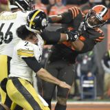 Helmet-Swinging Brawl Caps Browns-Steelers Clash