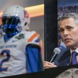 Las Vegas Bowl: Chris Petersen Rolls 'Em One Last Time