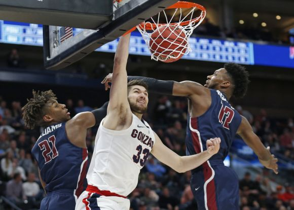 Zags Pick the Right Time to Be Ranked No 1