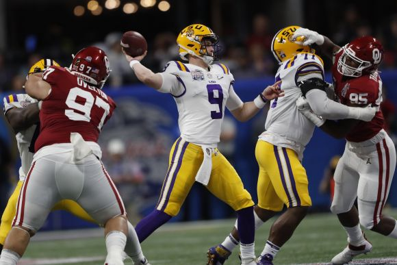 CFP Peach Bowl: LSU's Scorched Earth Offense Annihilates Oklahoma