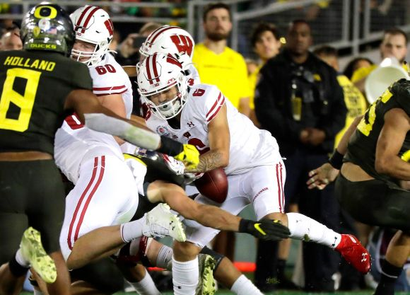 Rose Bowl: Ducks Rope-a-Dope the Butterfingered Badgers