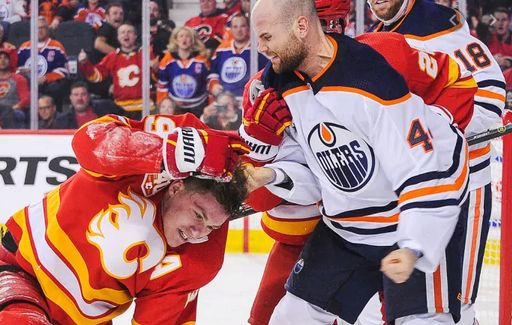 Kassian Blasts Tkachuk Early, Flames Tap Out Oil Late in Shootout