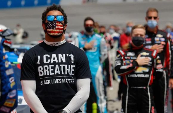 Bubba Disses the Stars & Bars; NASCAR Actually Agrees