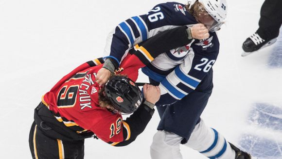 NHL Playoff Bubble Features Covid-Free Fisticuffs