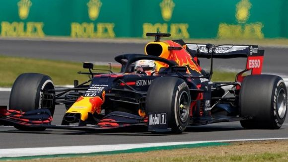 Verstappen Red Bulls Past Hamilton to Claim 70th Anniversary Grand Prix