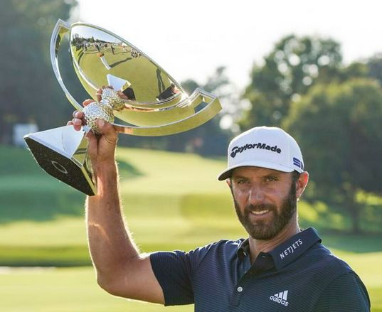 Dustin Johnson Caps FedEx Cup Playoff Domination by Hoisting the Hardware