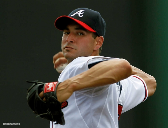 Braves Lose Beachy for Second Time